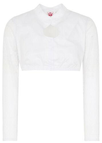 Spieth /& Wensky 321812-1390 Kolina Damen langarm Dirndlbluse in Weiß