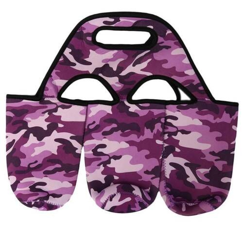 Insulated Bottle Cup Holder Carrier Bag For Carrying Coffee Soft Drink 3 In 1 Q