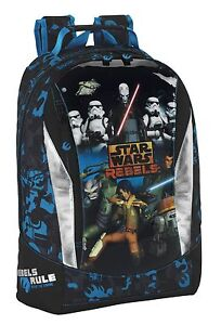 100% QualitäT Star Wars Rebels Rucksack Schulrucksack Schulranzen Kinderrucksack Star Wars Im Sommer KüHl Und Im Winter Warm