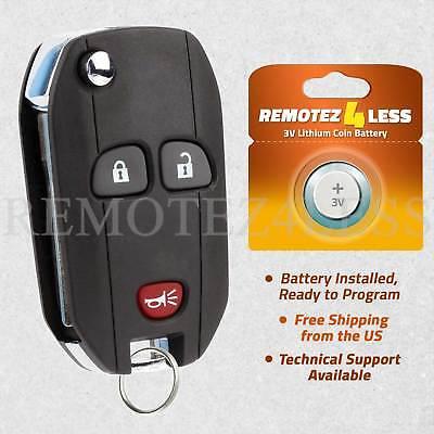 Car Key Fob Keyless Remote 2Btn For 2007 2008 2009 2010 2011 GMC Acadia