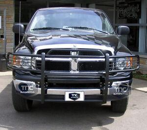2002-2005-Dodge-Ram-1500-03-05-Ram-2500-Grill-Guard-Brush-Guard-Push-Bar-Black