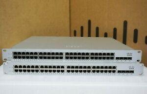 Cisco-Meraki-MS220-48-HW-Cloud-Managed-Switch-UNCLAIMED-TESTED