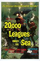 20000 Leagues Under The Sea Movie Poster 24x36