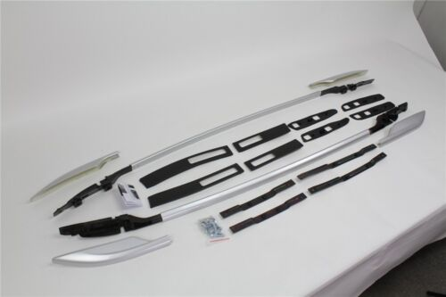 Aluminum for Nissan X-Trail Rogue 2014-2017 roof baggage luggage rack bar rail