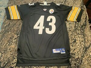 Details about Reebok Troy Polamalu Pittsburgh Steelers NFL Jersey Kids L Youth Stitched Number