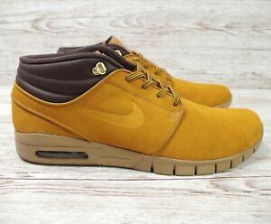 Nike SB Stefan Janoski Premium BronzeBronzeGum Light Brown Size: 13 BronzeGum Light Brown