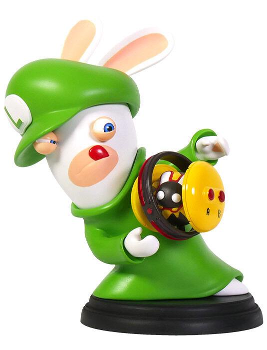 Mario + Rabbids Kingdom Battle Luigi 6-inch PVC Figure UBISOFT