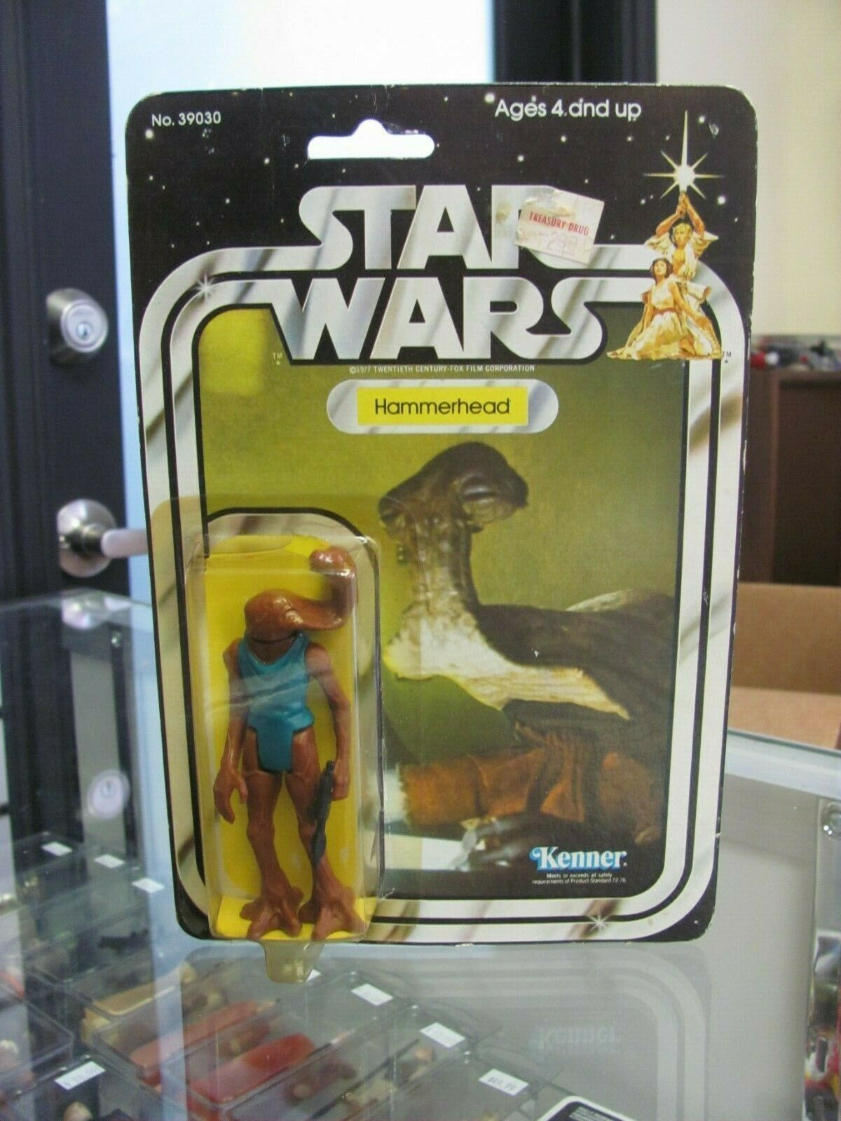 Star Wars VIntage Hammerhead MOC 21 Back Kenner 21B