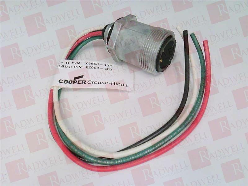 COOPER X8653-13P   X865313P (NEW IN BOX)