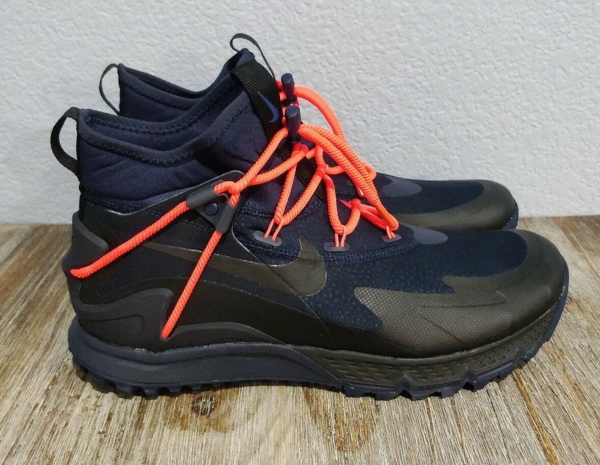 Nike Terra Sertig Boot Black Dark blueee Obsidian 916830-400