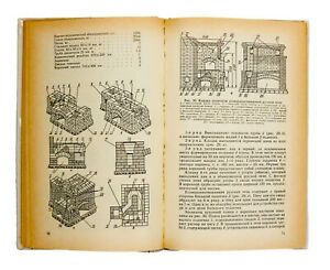 Construction of a stove, fireplace and bathhouse in the Russian style. Drawings.