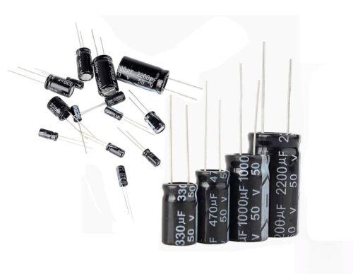 10 pcs Electrolytic Capacitors 22uf Micro Farad 500v Volts 85 °