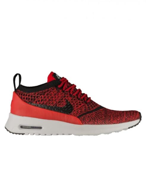 Womens NIKE AIR MAX THEA ULTRA FK University Red Running Trainers 881175 601