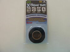"X-TREME TAPE PIPE RESCUE BLACK 1"" X 10' LENGTH PERMANENT AIR & WATER TIGHT NEW"
