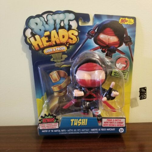 WOWWEE buttheads PET FIGURE tushi /& puant trading card