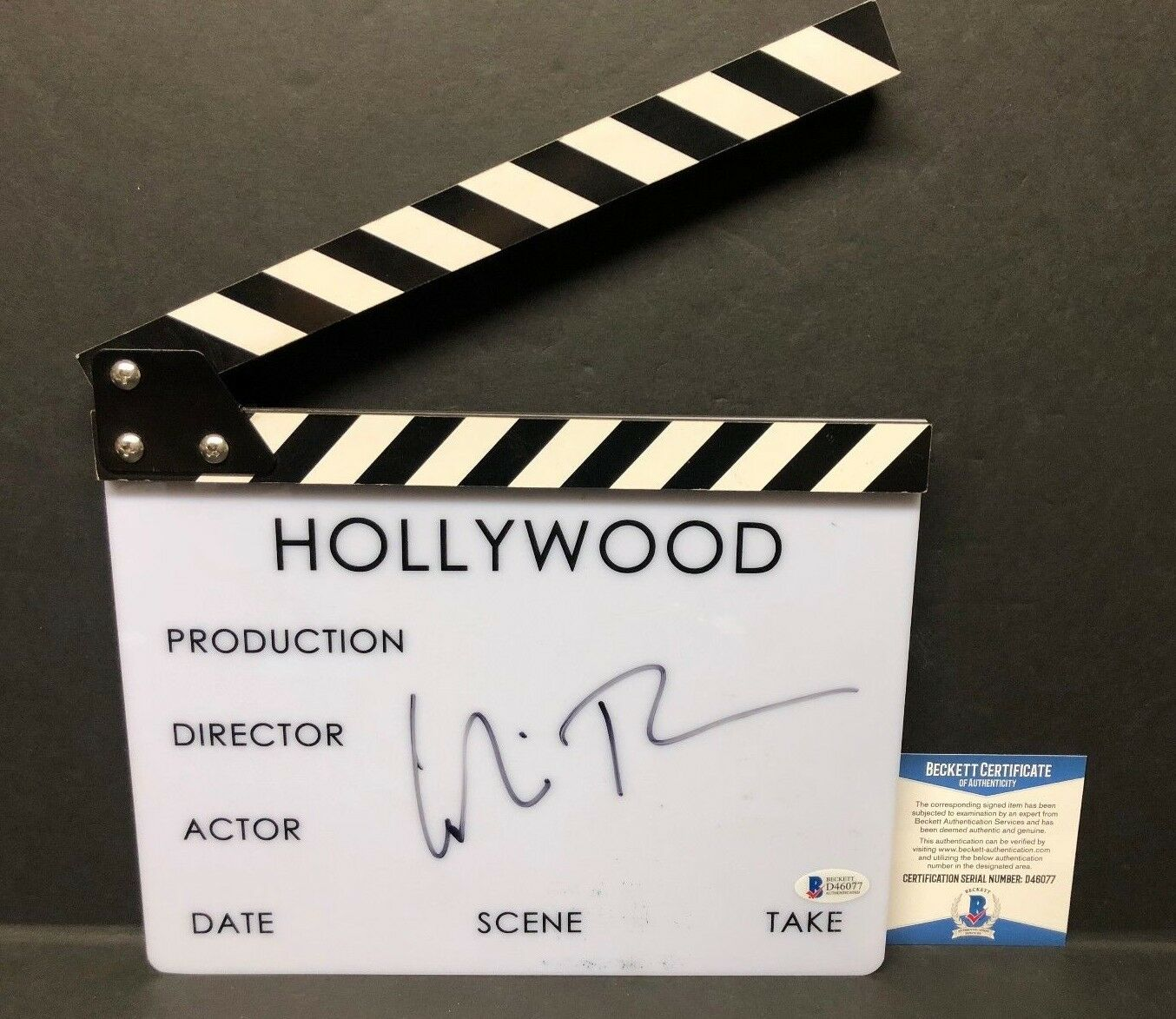 Colin Trevorrow Signed Director Clapperboard *Star Wars Episode IX Director BAS