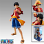 Anime One Piece 17CM Straw Hat Monkey D Luffy PVC Action Figure Toy Gift In Box