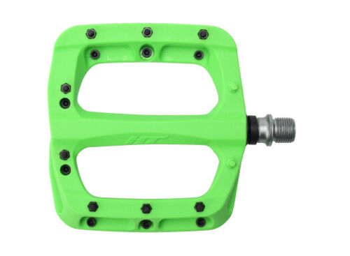 HT composite flat sealed bearing pedals pink//green//purple PA03A