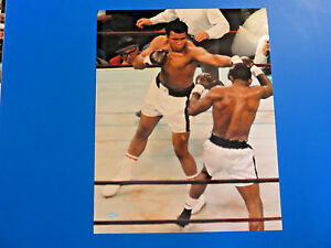 MUHAMMAD-ALI-8x10-PHOTOGRAPH-Fight-Picture-Throwing-A-Perfect-Jab