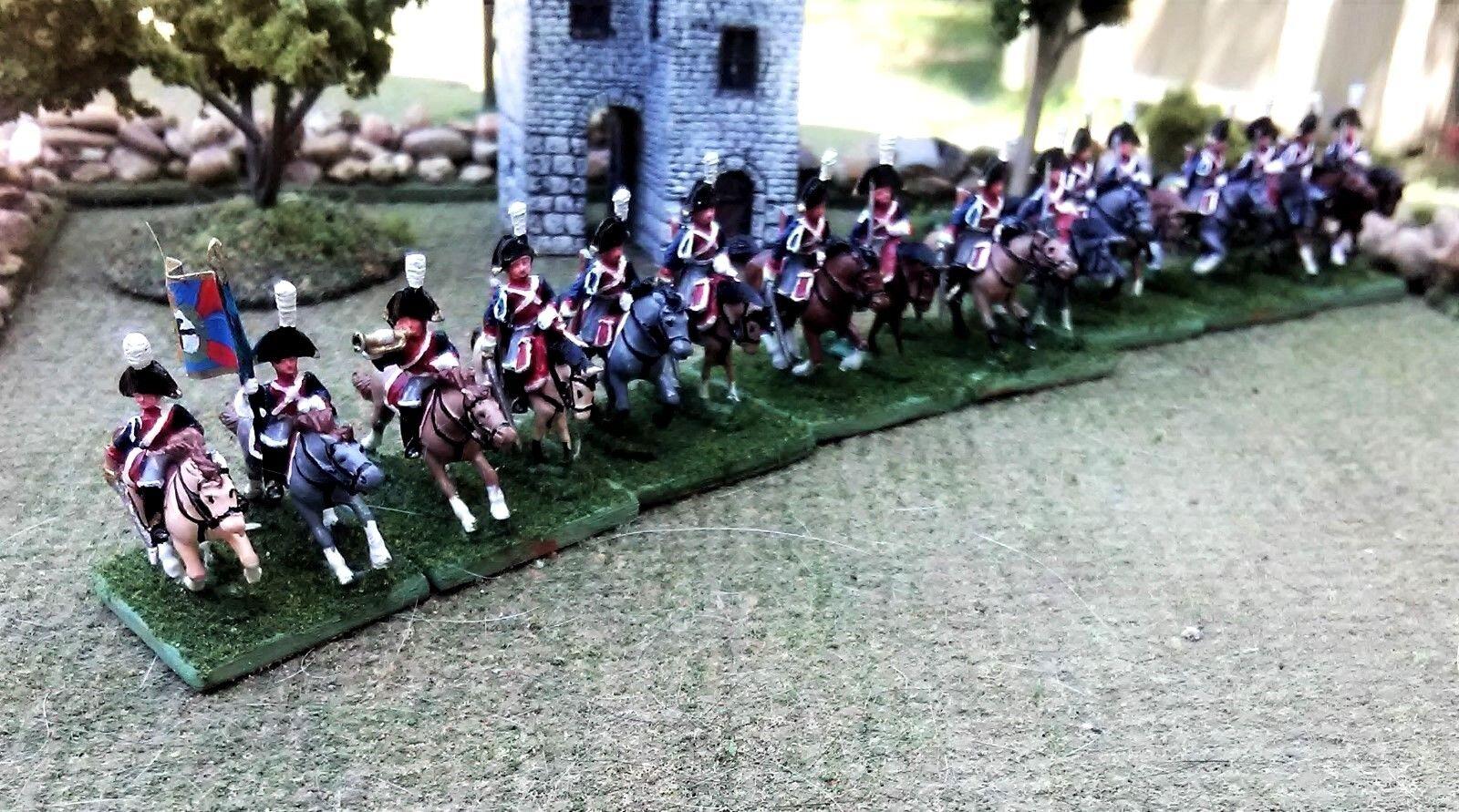 Napoleonic, 15mm 15mm 15mm Miniatures, Prussian Dragoon Cavalry b65e0f