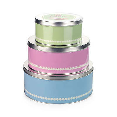 NEW Tala 1960s Cake Tins Set of 3 (RRP $51)