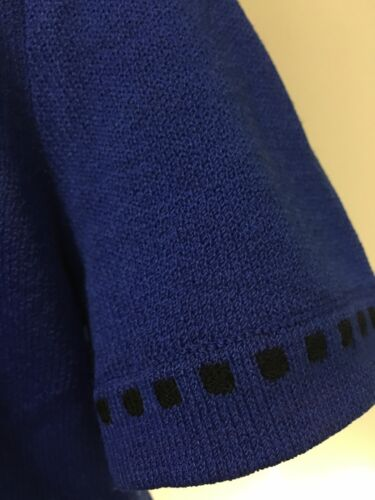 St John Size Maglione Small Blue FqfFd7