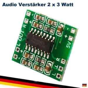 PAM8403 Audio Stereo Verstärker Modul 2 x 3 Watt Lautsprecher Raspberry Arduino