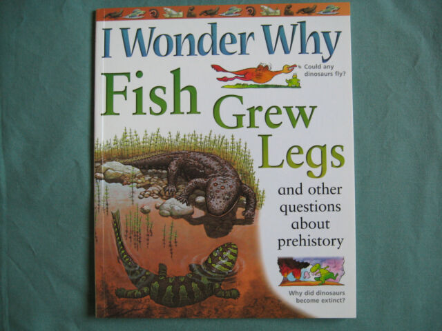 I Wonder Why Fish Grew Legs by Kingfisher ISBN 0753409496 paperback