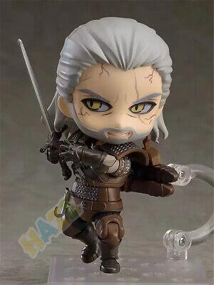 "Nendoroid The Witcher 3 Wild Hunt Geralt de Rivia Figura Juguete 4 /""Nuevo"