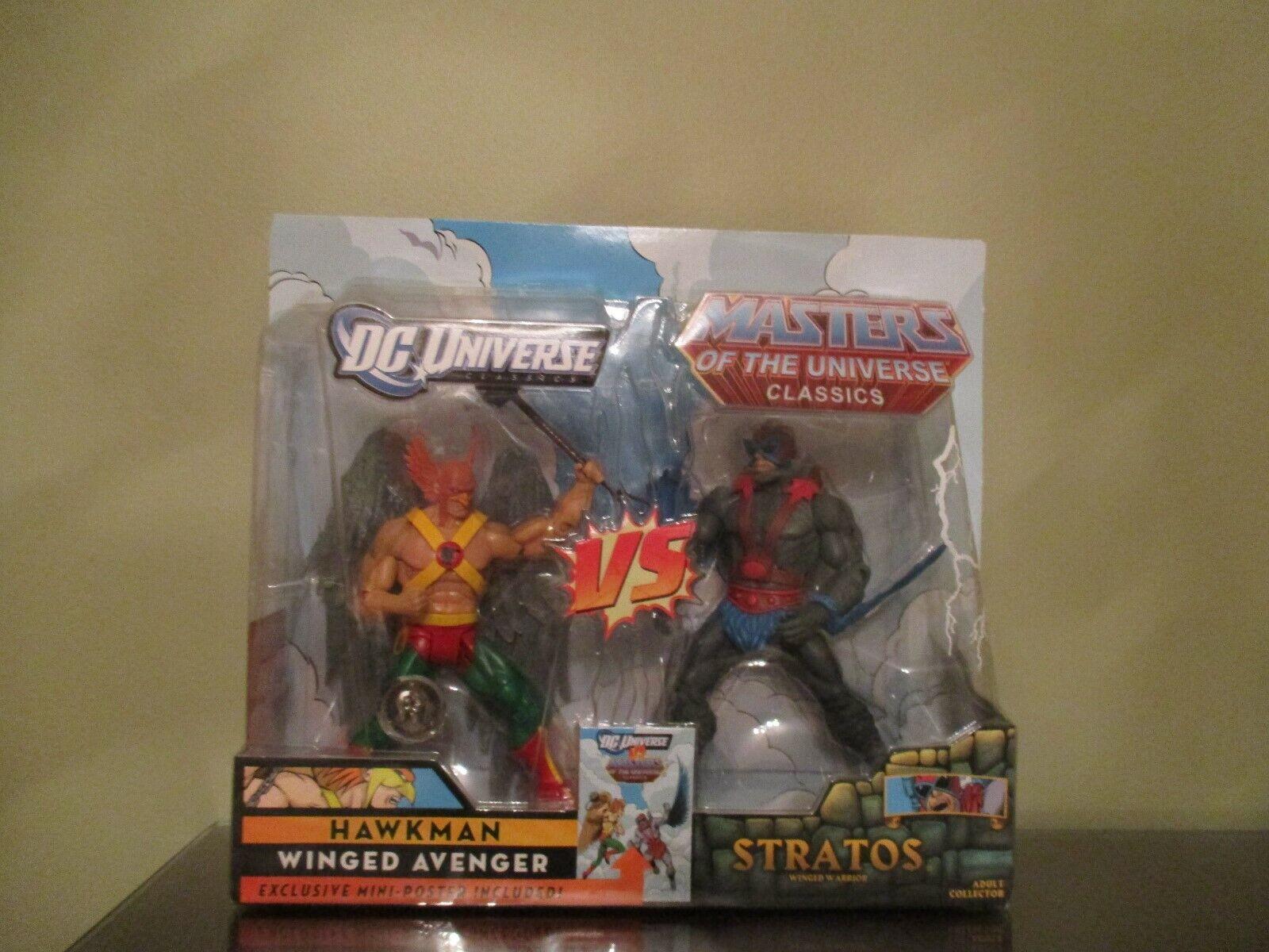 DC Masters Of The Universe Classics Hawkman Vs Stratos Juguetes R Us Exclusive