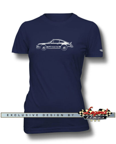 Multiple Colors and Sizes Porsche 911 Carrera RS 1973-1974 T-Shirt for Women