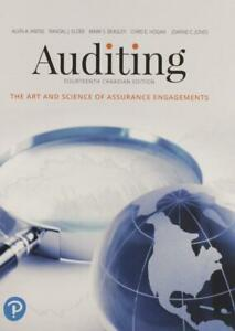 Auditing The Art And Science Of Assurance Engagements 14th Canadian Edition Canada Preview