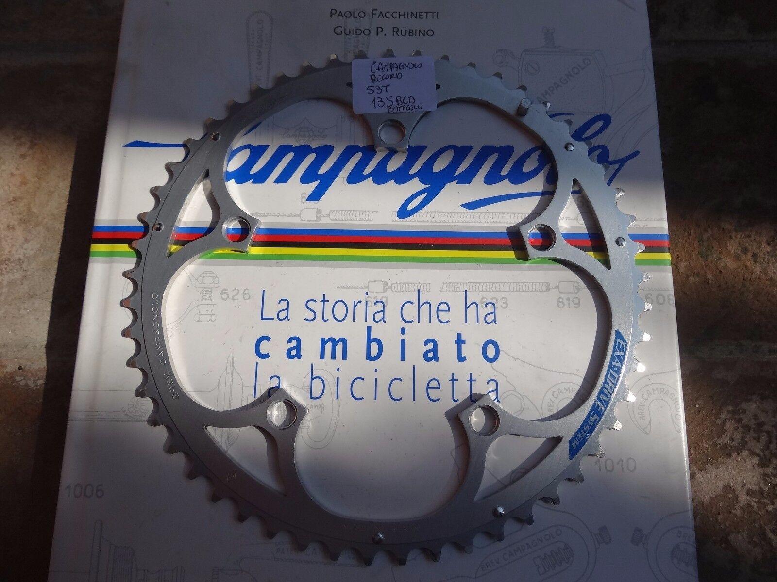 Campagnolo Record chainring 53T  BCD 135 VVGC