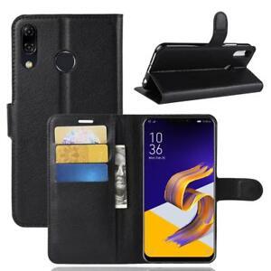 Asus-Zenfone-5-ZE620kl-Custodia-a-Portafoglio-Protettiva-Cover-wallet-Case-Nero