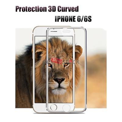 Inventive Vitre De Protection Iphone 6/6s 3d Bord Incurvé Verre Trempé Ess Tech® Silver Computers/tablets & Networking Cell Phone Accessories