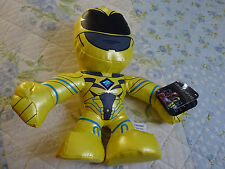 POWER RANGERS MOVIE 8 INCH PLUSH Yellow Ranger - BRAND NEW AND IN HAND With Tag