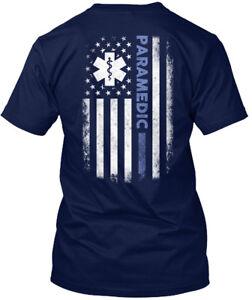Long-lasting-Paramedic-Hanes-Tagless-Tee-T-Shirt-Hanes-Tagless-Tee-T-Shirt