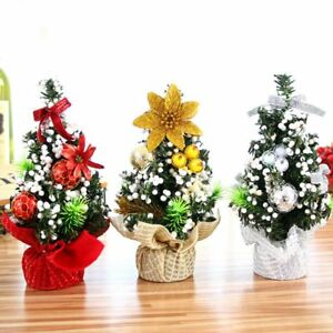 20cm-Mini-Christmas-Tree-Desk-Table-Decor-Small-Party-Ornaments-Xmas-Gift