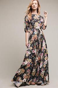 35cdd57c2d6f1 NEW Anthropologie Garden Grown Maxi Dress by Yumi Kim, Floral, Size ...