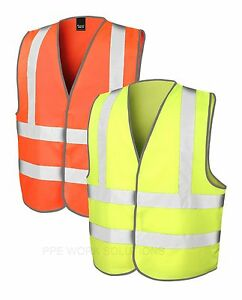 Result-Safe-Guard-Safety-Hi-Vis-Vest-Work-Wear-PPE-High-Viz-Visibility-R201X