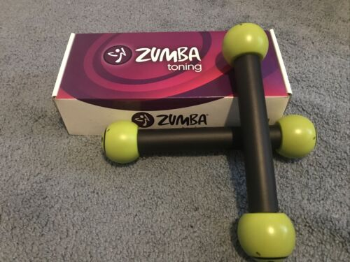 Details about  /Zumba 1 LB Toning Sticks in Box Join the Party