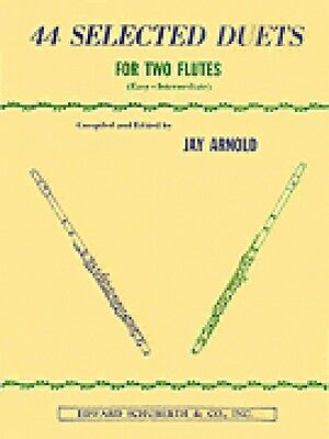 Wind & Woodwinds 44 Selected Duets For Two Flutes Book 1 Easy Intermediate Book New 000510553 To Rank First Among Similar Products