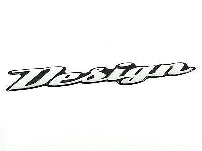 Genuine New CITROEN DESIGN SIDE BADGE Emblem For C2 2002-2008 1.1 1.4 1.6 SED