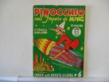 COMICS DELLA BRIGATA ALLEGRA  n.  6 del 1949  PINOCCHIO ...  ed. Nerbini