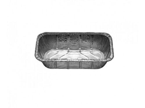 50 x Alu Behälter GN 1//2 3500ml Alubehälter Aluschale Kuchenform Backschale