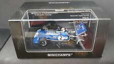 1:43 Minichamps Tyrrell 003 Cosworth JACKIE STEWART CAMPIONE F1 1971 436710002