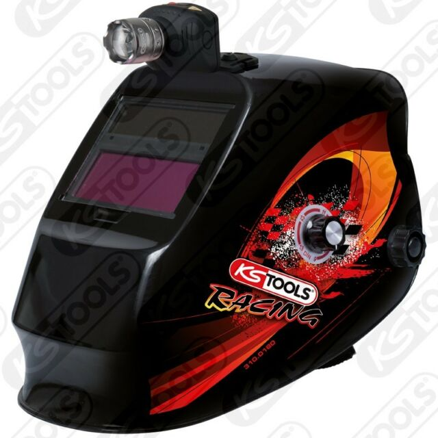 Ks Tools Schweißer-schutzhelm with Integrated Headlamp 310.0185 Welding Helmet