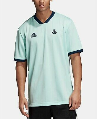 adidas Men's Tango ClimaLite Striped Jacquard Jersey Mint Size XL ...