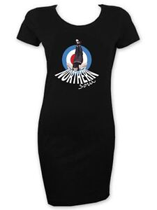 Northern-Soul-Dancer-Mod-Target-Women-039-s-T-Shirt-Dress-Motown-Wigan-Casino