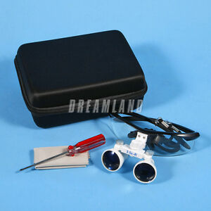 4-Colors-Dental-Surgical-Medical-Binocular-Lens-Loupes-Glasses-3-5X-420mm-Skysea